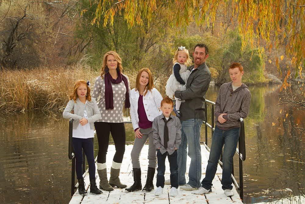 beus pond family portrait