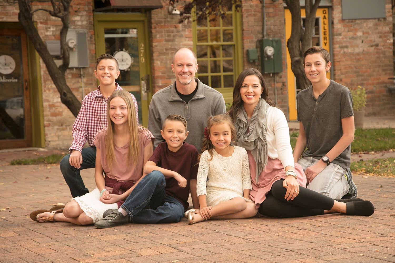 downtown ogden family portrait